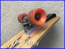 Vintage Santa Cruz 5 Ply Skateboard, Dogtown, Alva, G&S