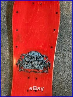 Vintage Santa Cruz Bod Boyle Skateboard Deck Natas Gonz Zorlac Powell Peralta