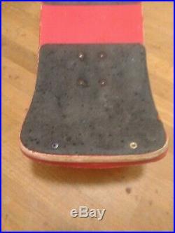 Vintage Santa Cruz Bullet Skateboard Complete