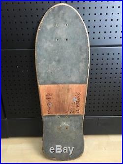 Vintage Santa Cruz Corey OBrien Reaper 80s Skateboard Deck