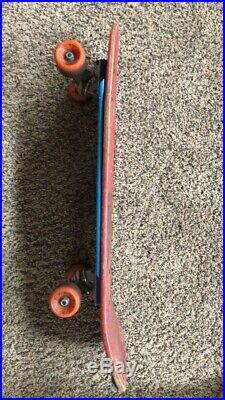 Vintage Santa Cruz Corey OBrien Reaper skateboard