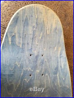 Vintage Santa Cruz Everslick Tom Knox Og 1990 Skateboard Deck