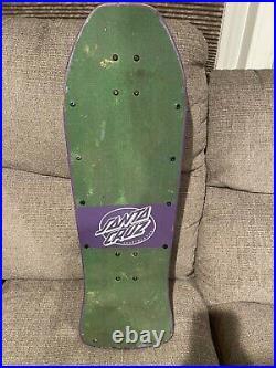 Vintage Santa Cruz Grosso Skateboard