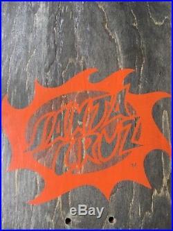 Vintage Santa Cruz Jason Jessee Sungod Mini Skateboard Deck! 1/1! Test Deck