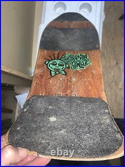 Vintage Santa Cruz Jeff Grosso/acid Head Skateboard Deck