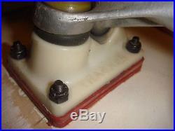 Vintage Santa Cruz R/S 10 Skateboard Tracker Powell Peralta cubics Cellblock