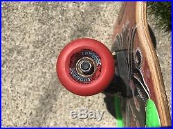 Vintage Santa Cruz Roskopp eye Skateboard