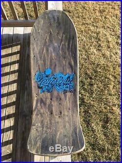 Vintage Santa Cruz Skateboard