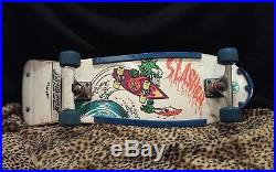 Vintage Santa Cruz Skateboard Keith Meek Slasher RARE! ORIGINAL 80S