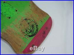Vintage Santa Cruz Skateboard Roskopp Deck