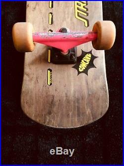Vintage Santa Cruz Skateboard Sims Sims Sma Powell Zorlac longboard gonzales 101