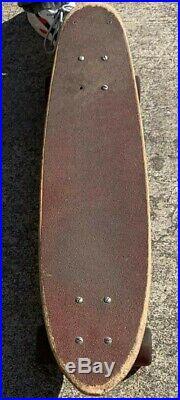 Vintage Santa Cruz Skateboard Tracker Trucks Road Rider 4 Wheels OG 1970's Rare