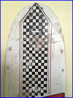 Vintage Santa Cruz Steve Olson Skateboard Deck