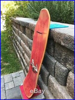 Vintage Santa Monica Airlines Mike Conroy nos skateboard Alva Santa Cruz Powell