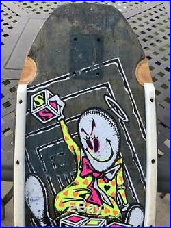 Vintage Schmitt Stix Grosso Blocks Ragdoll Skateboard Deck! Santa Cruz