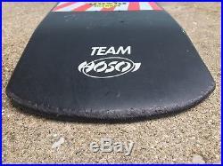 Vintage Skateboard Deck 80's Hosoi Hammerhead Street Flag Santa Cruz Nolder