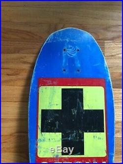 Vintage Skateboard Deck Santa Cruz JOHN Lucero CROSS
