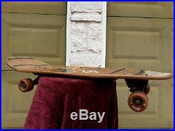 Vintage Skateboard Natas Kaupas Sma Rodney Mullen Signed 1989 Santa Cruz Wheels