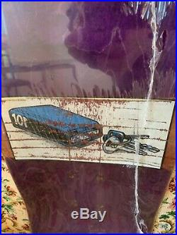 Vintage Skateboard Natas Original Deck Original 1991 SMA Santa Cruz Alva Sims