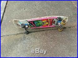 Vintage Skateboard Powell Peralta Vision Alva Santa Cruz Jeff Kendall