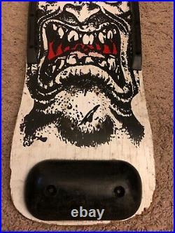 Vintage Skateboard Rob Roskopp face Original 1980s Santa Cruz Spoof
