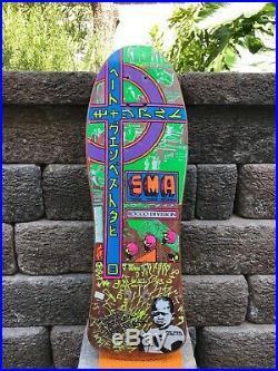 Vintage Steve Rocco 1 skateboard santa monica airlines Santa Cruz Blind Vision