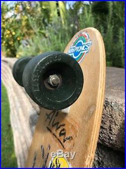 Vintage Tony Alva skateboard Dogtown zephyr z flex Zboy Sims Santa Cruz