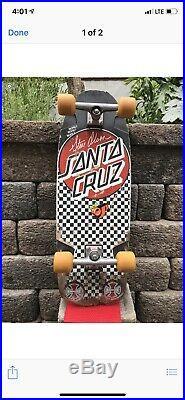 Vintage santa cruz skateboard Steve Olson