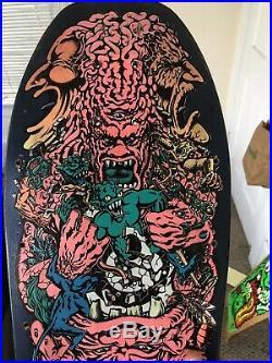Vintage santa cruz skateboard deck Rob Roskopp V