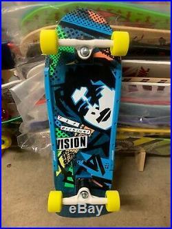 Vision Original Mark Gonzales Modern Concave Blue Custom Complete Skateboard