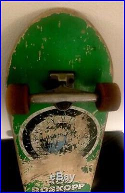 Vtg 80s Skateboard Santa Cruz Rob Roskopp Target1,30fkn Years Santa Cruz