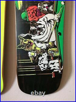World Industries skateboard Rare nos Rodney Mullen Sure shot Blind Santa Cruz