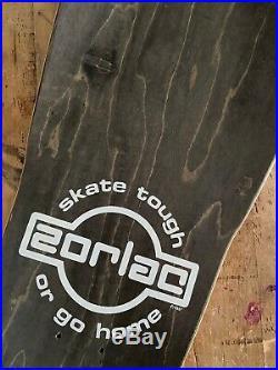 Zorlac Abrook Brothers Vintage Skateboard Deck 1986 Og Nos Santa Cruz Vision